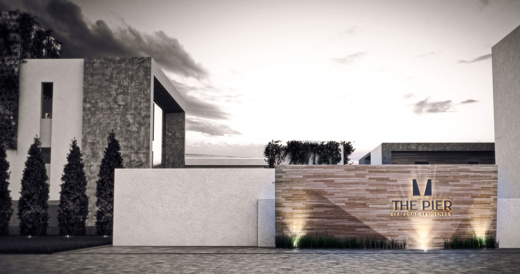 The-Pier-Residence-entrance