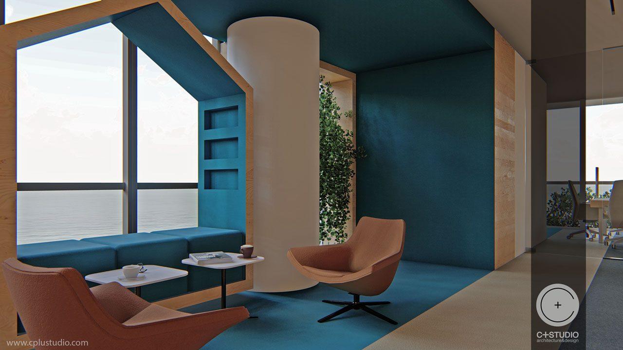 Mhp office interior design cyprus c studio architects for Interior design cyprus